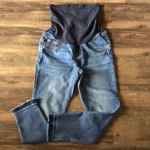 Jessica Simpson Cropped Maternity Jeans size Small